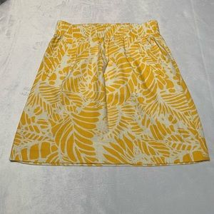 LOFT Pleated Skirt with Pockets XSP